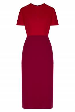 Платье цвета фуксии с кейпом Gucci 470160207
