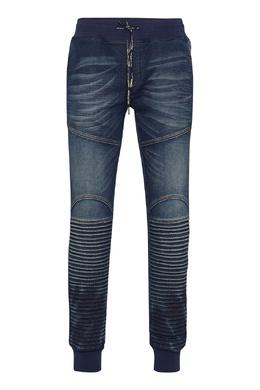 Синие джинсы в спортивном стиле Philipp Plein 1795159834