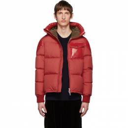 Moncler Red Down Eloy Jacket E2091 41874 85 53859