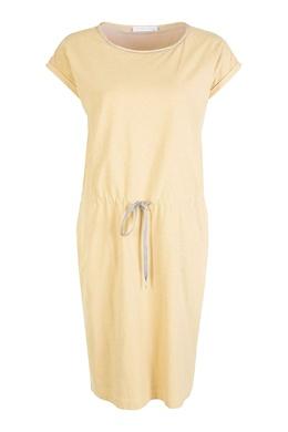 Желтое платье с кулиской Fabiana Filippi 2658160364