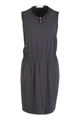 Приталенное серое платье Fabiana Filippi 2658160368