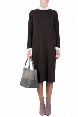 Платье из тонкого трикотажа Fabiana Filippi 2658160490