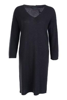 Черное кашемировое платье Fabiana Filippi 2658160380