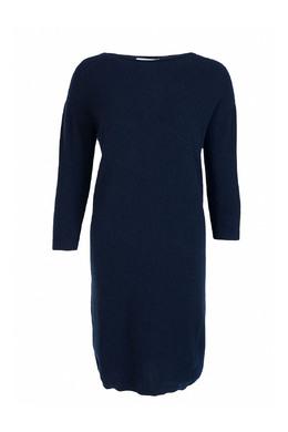 Синее платье из тонкого трикотажа Fabiana Filippi 2658160430