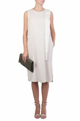 Белое платье с лентами Fabiana Filippi 2658160511