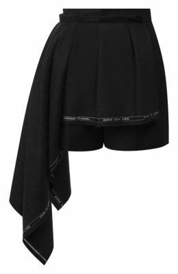 Шерстяные шорты Alexander McQueen 590955/QJAAN
