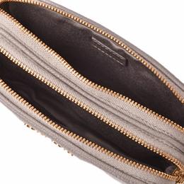 Miu Miu Light Gray Leather Iphone Case Bag