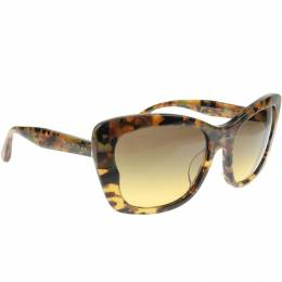 Miu Miu Brown SMU03O Cat Eye Sunglasses 237281