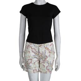Etro Paisley Printed Denim Shorts M 253225