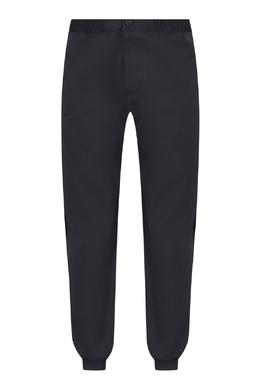 Синие брюки-джоггеры с лампасами Etro 907146636