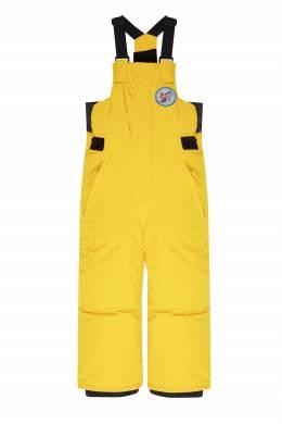 Желтые сноубордические брюки на подтяжках Boogie Quiksilver Kids 2764160595