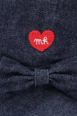 Синяя джинсовая панама Miki House 3018160175