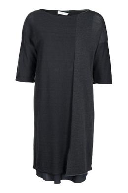 Серое свободное платье Fabiana Filippi 2658160445