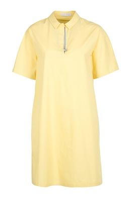 Светло-желтое платье на липучке Fabiana Filippi 2658160359