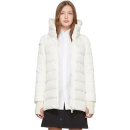 Herno White Heavy Hilo Jacket 192829F06103104GB