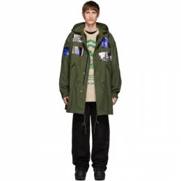 Raf Simons Green Patches Parka 192287M17601104GB