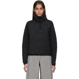 Nike Grey Fleece Therma Turtleneck BV5285-010