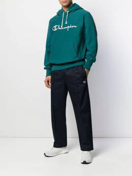 Champion logo embroidered hoodie 212574GS549