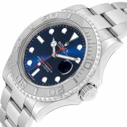 Rolex Blue Stainless Steel Yachtmaster 116622 Men's Wristwatch 40MM 237861