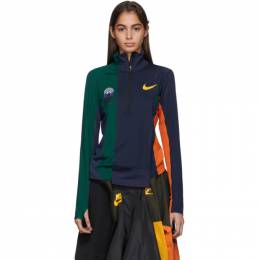 Nike Multicolor Sacai Edition NRG Half-Zip Running Jacket CD6308-451