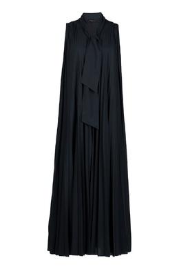Черное гофрированное платье Fabiana Filippi 2658160914