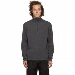 Hugo Grey Wool San Gottardo Sweater 192084M20500604GB