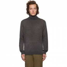 Hugo Grey Wool San Antonio Turtleneck 192084M20500203GB