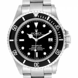 Rolex Black Stainless Steel Seadweller 16600 Men's Wristwatch 40MM 237913