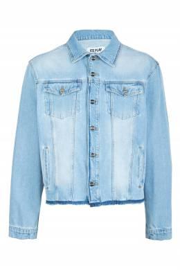 Голубая джинсовая куртка Ice Play 2998161555