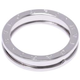Bvlgari B.Zero1 1-Band 18k White Gold Band Ring Size 49