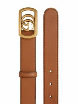 Gucci ремень с пряжкой Double G 575587AP00T