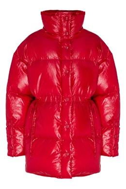 Красная стеганая куртка оверсайз Acne Studios 876161881