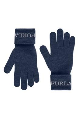 Синие перчатки Eva Furla 1962161811