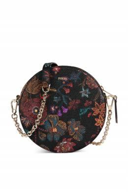 Черная сумка с принтом Furla 1962161730