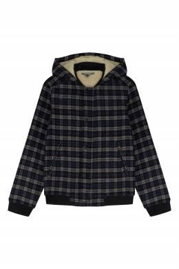Куртка из шерстяной ткани в клетку Bonpoint 1210160887