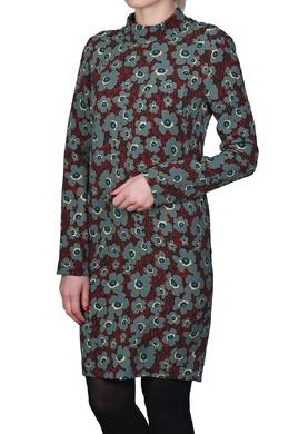 Черное платье с цветочным узором Manila Grace 3056161331