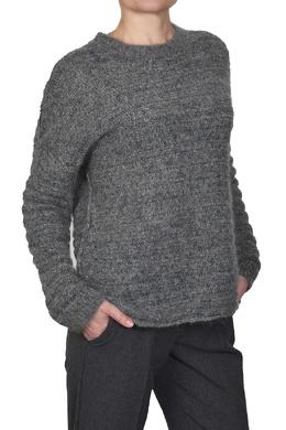 Серый свитер со спущенным рукавом Manila Grace 3056161330