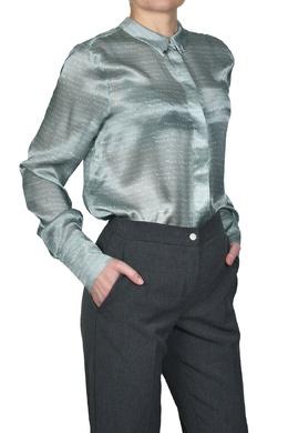Голубая блуза с надписями Manila Grace 3056161327