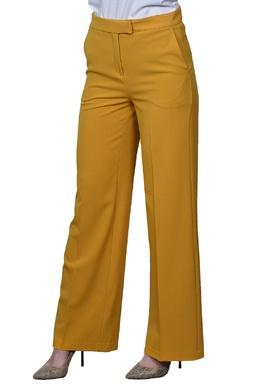 Расклешенные желтые брюки Manila Grace 3056161324