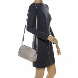 MICHAEL Michael Kors Grey Leather Crossbody Bag