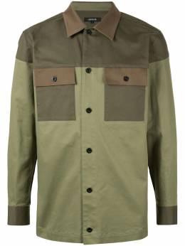 Loveless куртка-рубашка со вставками 61M45209