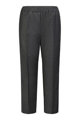 Серые брюки на резинке Gucci Kids 1256161904