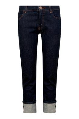 Темно-синие джинсы с отворотами Gucci Kids 1256161950