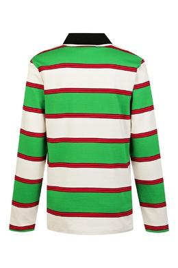 Полосатая рубашка-поло Gucci Kids 1256161947