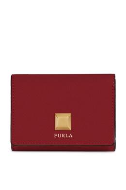 Красный кошелек из кожи Furla 1962161686