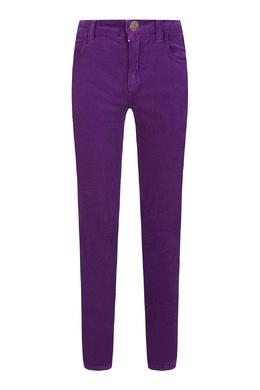 Сиреневые прямые джинсы Gucci Kids 1256161911