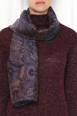 Двухцветный платок с узором Etro 907162069