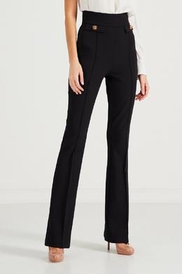 Черные брюки со стрелками Elisabetta Franchi 1732162187