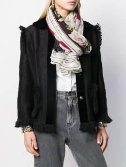 Dolce & Gabbana шарф с принтом FS182AGDR62