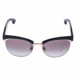 Miu Miu Black/Brown Gradient SMU 54Q Stardust Sunglasses 238963